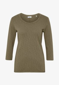 Marc O'Polo DENIM - Long sleeved top - bleached olive - 4