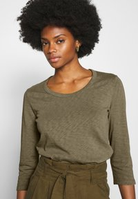 Marc O'Polo DENIM - Long sleeved top - bleached olive - 3