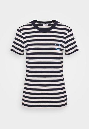 SHORT SLEEVE STRIPE - T-shirt print - multi/scandinavian blue