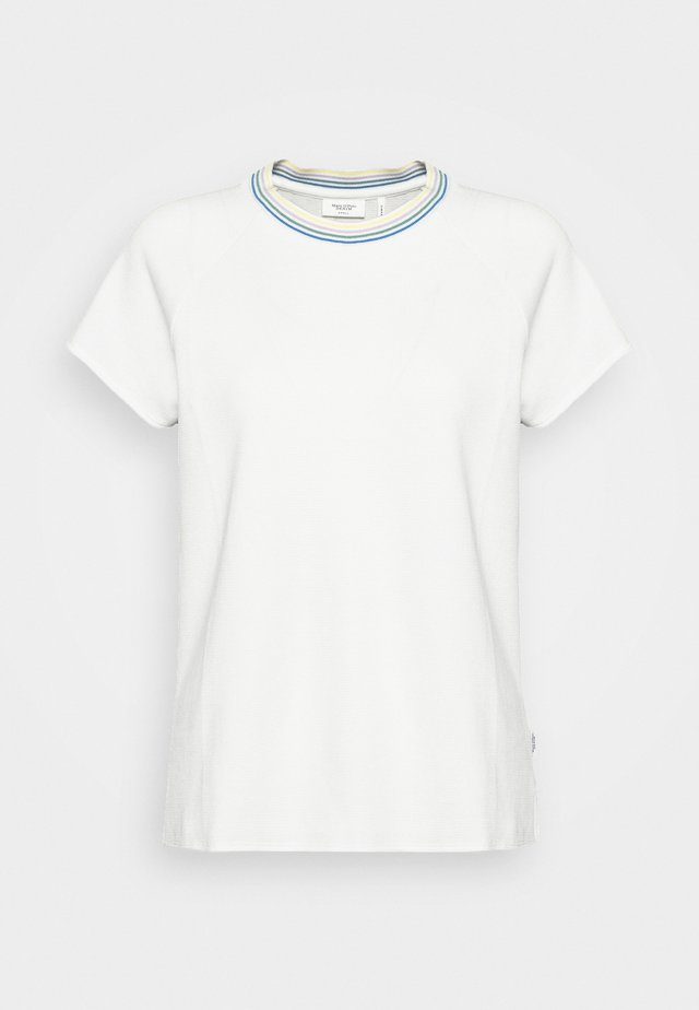 WITH TIPPING - T-shirts print - scandinavian white