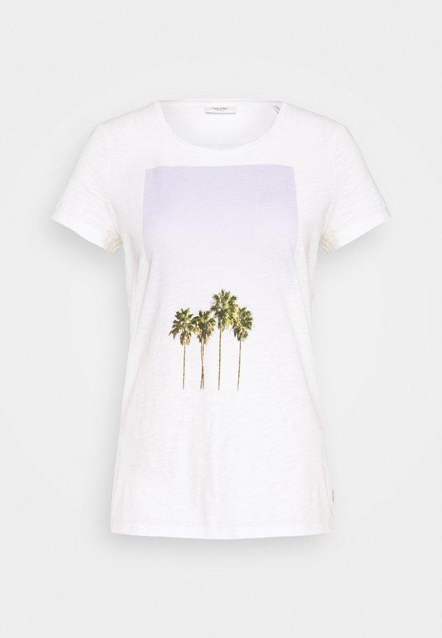 SHORT SLEEVE PLACEMENT - T-shirts print - scandinavian white