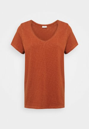 T-shirt basic - cinnamon brown