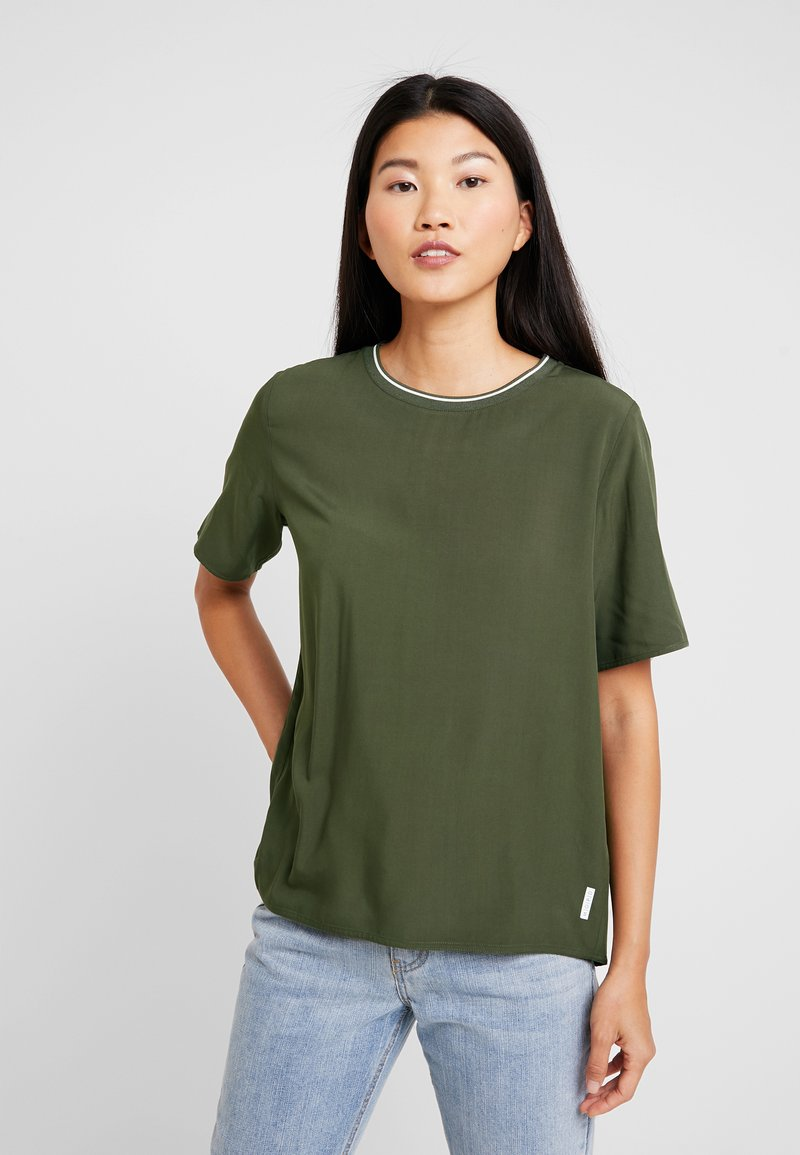 Marc O'Polo DENIM - T-Shirt basic - action green