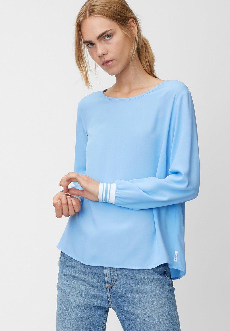 Marc O'Polo DENIM - Bluse - mottled blue