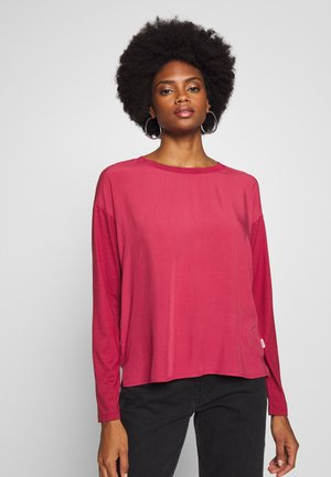 LONG SLEEVE - Blouse - rusty red