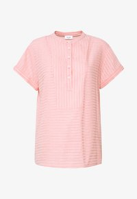 Marc O'Polo DENIM - BLOUSE SHORT SLEEVE - Blouse - multi/soft coral - 3