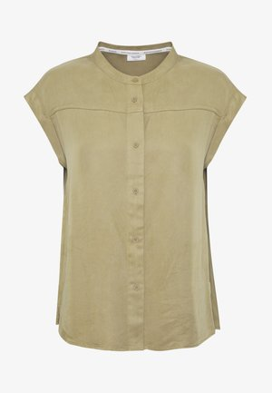 BLOUSE - Camisa - bleached olive