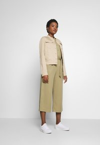 Marc O'Polo DENIM - BLOUSE - Button-down blouse - bleached olive