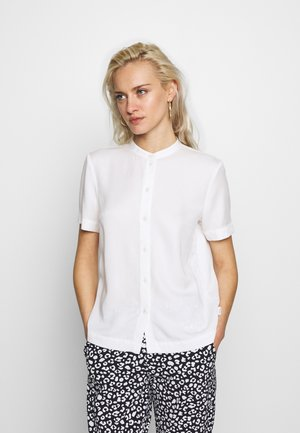 Button-down blouse - scandinavian white