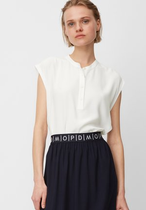 HALF PLACKET - Blouse - scandinavian white