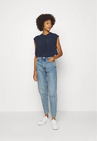 Marc O'Polo DENIM - HALF PLACKET - Camicetta - scandinavian blue - 1