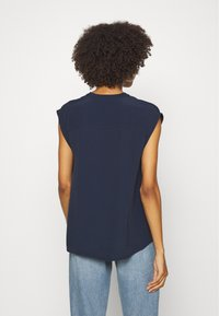 Marc O'Polo DENIM - HALF PLACKET - Camicetta - scandinavian blue - 2
