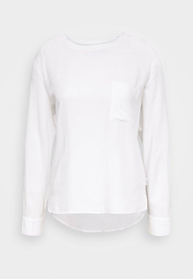 BLOUSE LONGSLEEVE - Blouse - scandinavian white
