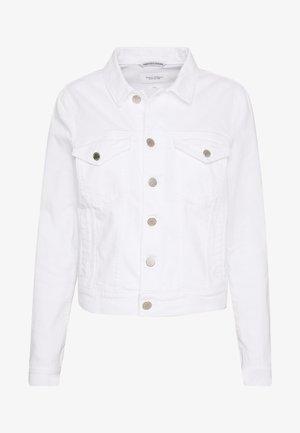 JACKET REGULAR FIT LONG SLEEVES - Džínová bunda - white