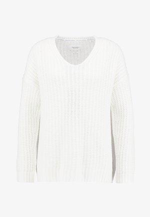 LONG SLEEVE - Pullover - white