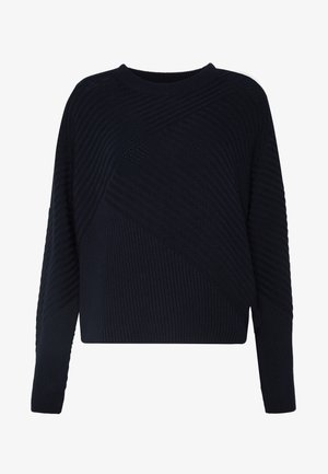 LONG SLEEVE CREW NECK - Svetr - scandinavian blue