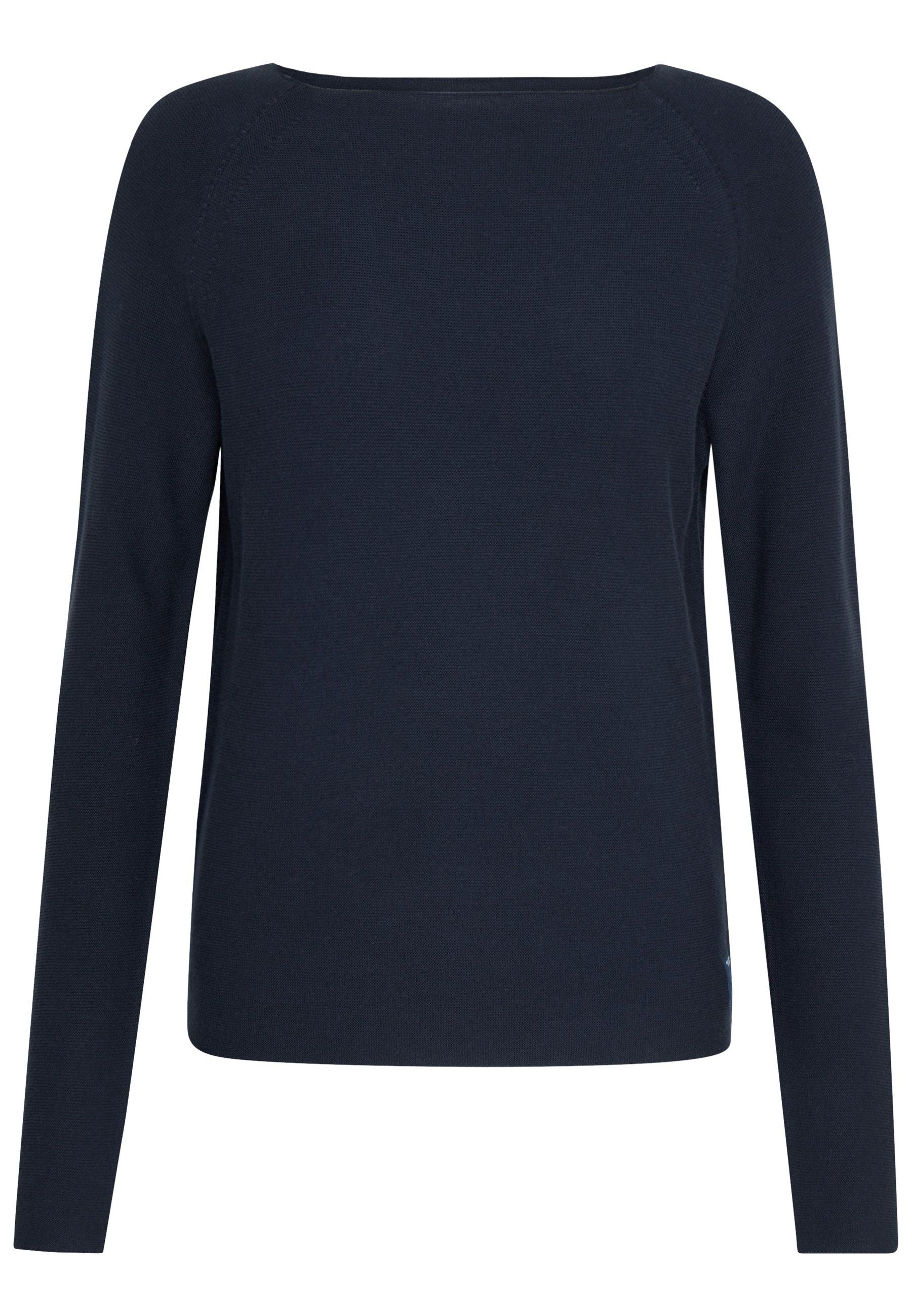 Marc O'polo Denim Long Sleeve Crew Neck - Stickad Tröja Scandinavian Blue