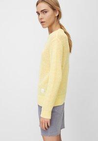 Marc O'Polo DENIM - Sweter - yellow - 3