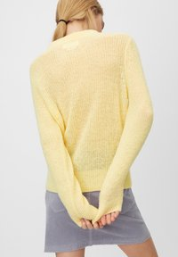 Marc O'Polo DENIM - Sweter - yellow - 2