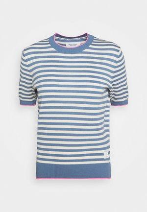 WITH SHORT SLEEVE - Print T-shirt - multi/blue fantasy