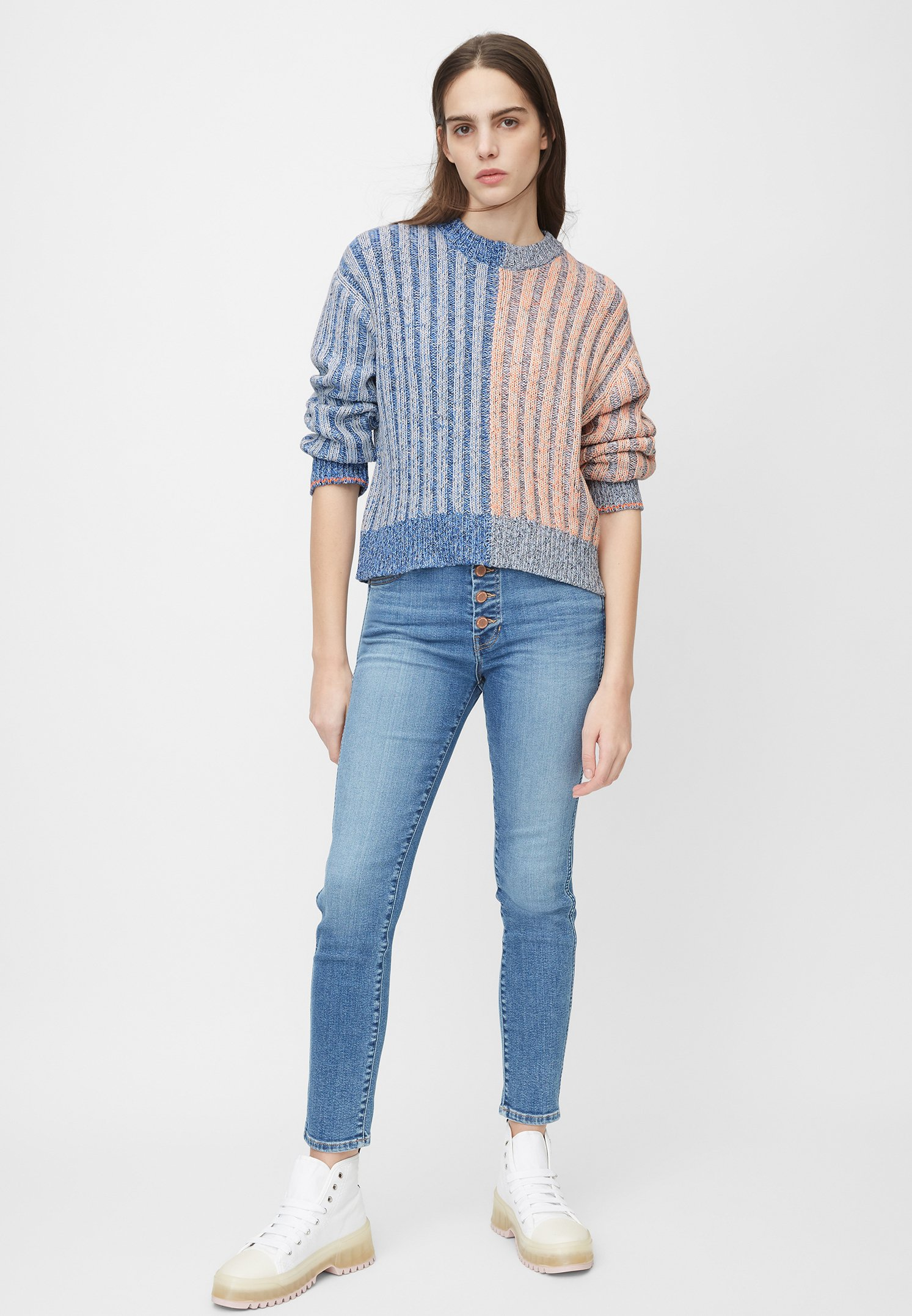 Marc O'Polo DENIM Sweter - blue