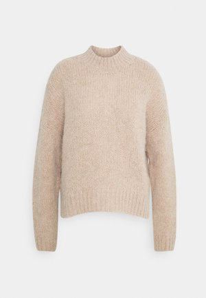 LONG SLEEVE - Jumper - beige melange