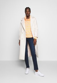 Marc O'Polo DENIM - TUBE NECK STRIPED RELAX FIT DRAWSTRING DETAIL - Long sleeved top - multi - 1
