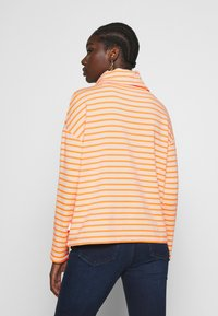 Marc O'Polo DENIM - TUBE NECK STRIPED RELAX FIT DRAWSTRING DETAIL - Long sleeved top - multi - 2