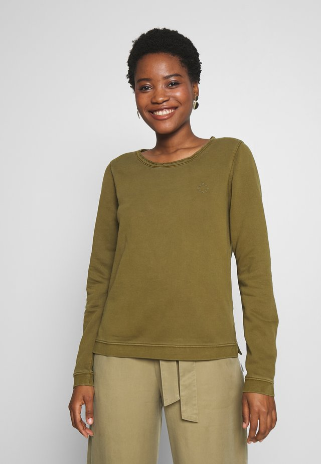 BASIC FIT - Sweater - summer olive
