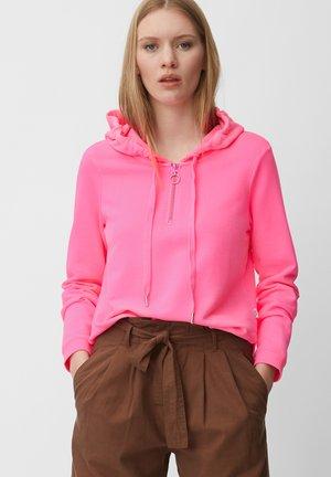 Bluza z kapturem - neon pink