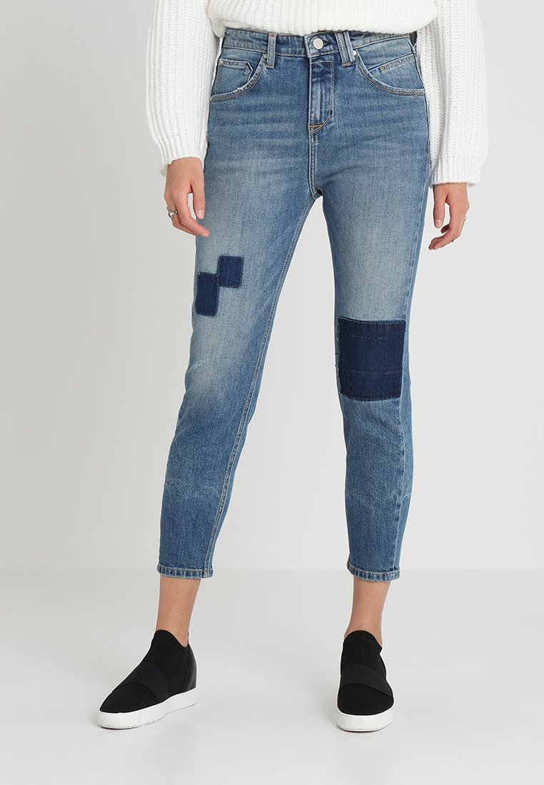 Marc O'Polo DENIM - FREJA - Relaxed fit jeans - blue