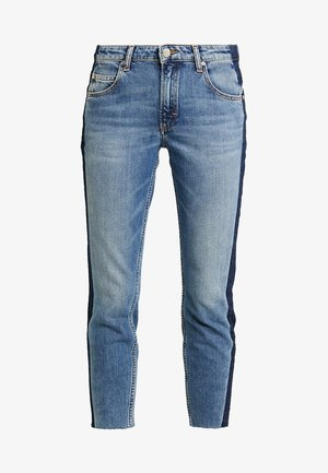ALVA CROPPED - Jeansy Slim Fit - blue side of life/mid blue