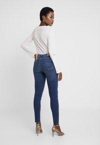 Marc O'Polo DENIM - KAJ CROPPED - Jeans Skinny Fit - dark denim - 2