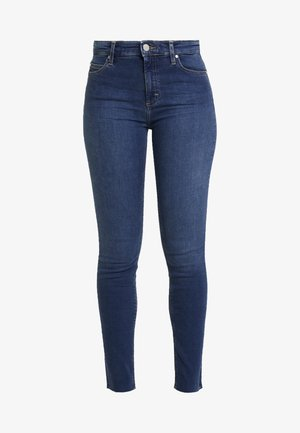 KAJ CROPPED - Jeans Skinny Fit - dark denim