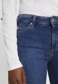 Marc O'Polo DENIM - KAJ CROPPED - Jeans Skinny Fit - dark denim - 5