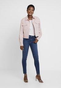 Marc O'Polo DENIM - KAJ CROPPED - Jeans Skinny Fit - dark denim - 1
