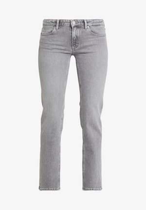 ALVA MID STRAIGHT CROPPED - Straight leg jeans - mid grey