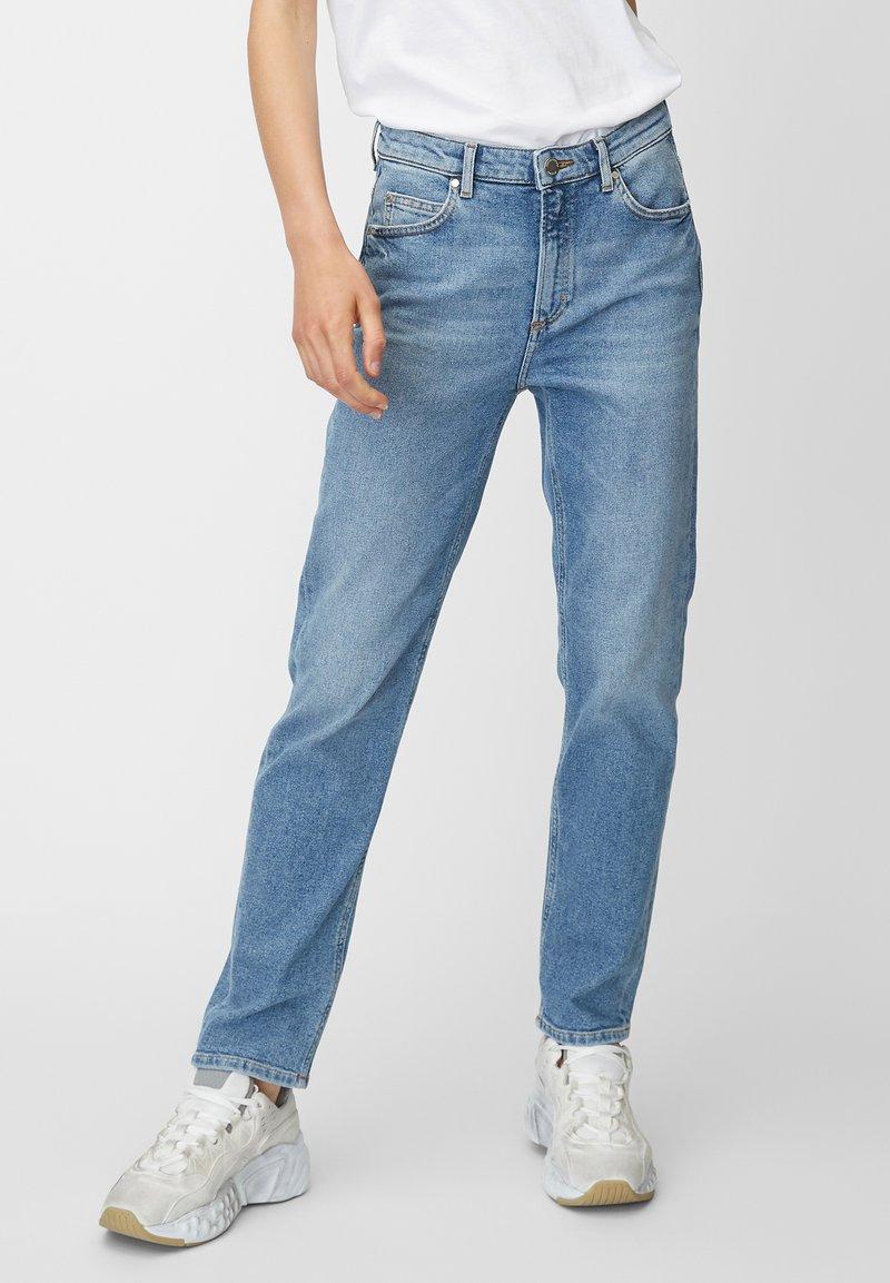 Marc O'Polo DENIM - ALVA  - Straight leg jeans - blue
