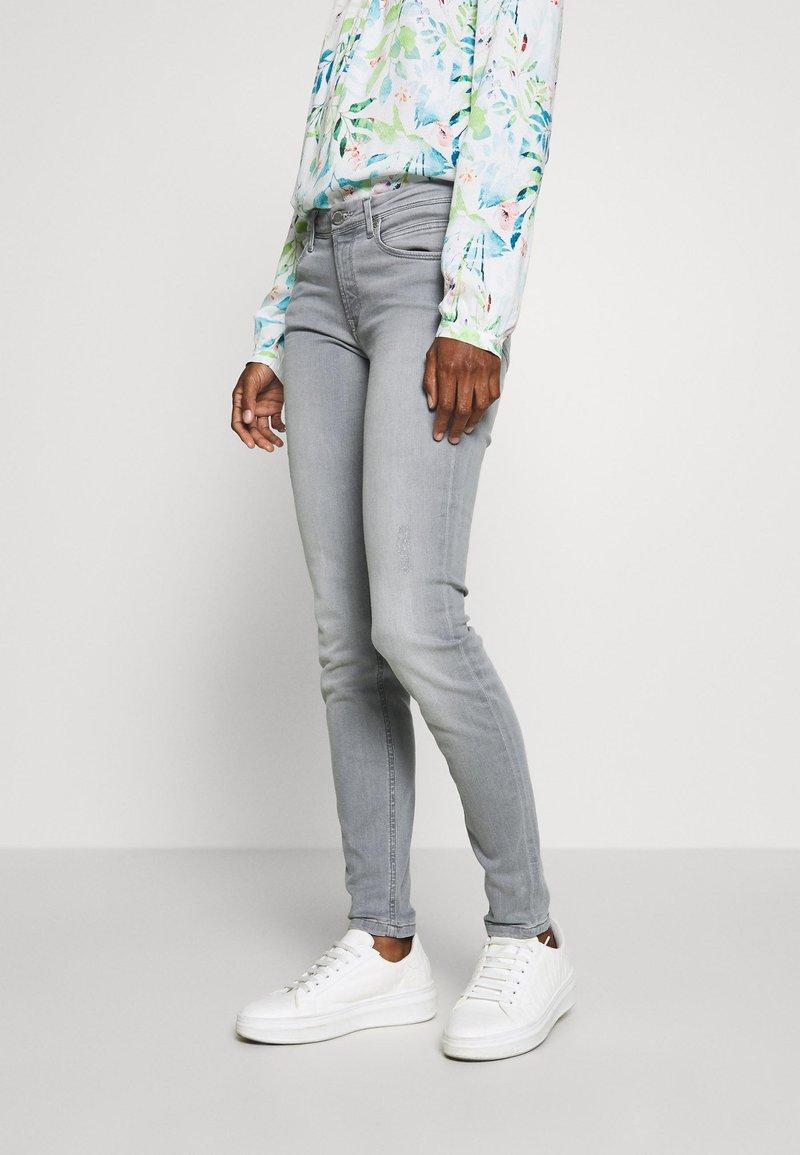 Marc O'Polo DENIM - ALVA - Jeans Skinny Fit - every day grey wash