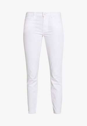 ALVA CROPPED - Jeans Tapered Fit - white