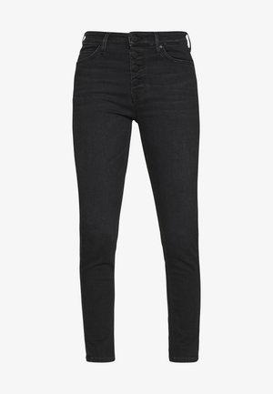 KAJ CROPPED - Jeans Skinny Fit - black stretch wash