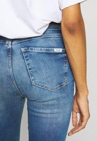 Marc O'Polo DENIM - KAJ HIGH RISE CROPPED - Jeans Skinny Fit - multi/mid blue used - 5