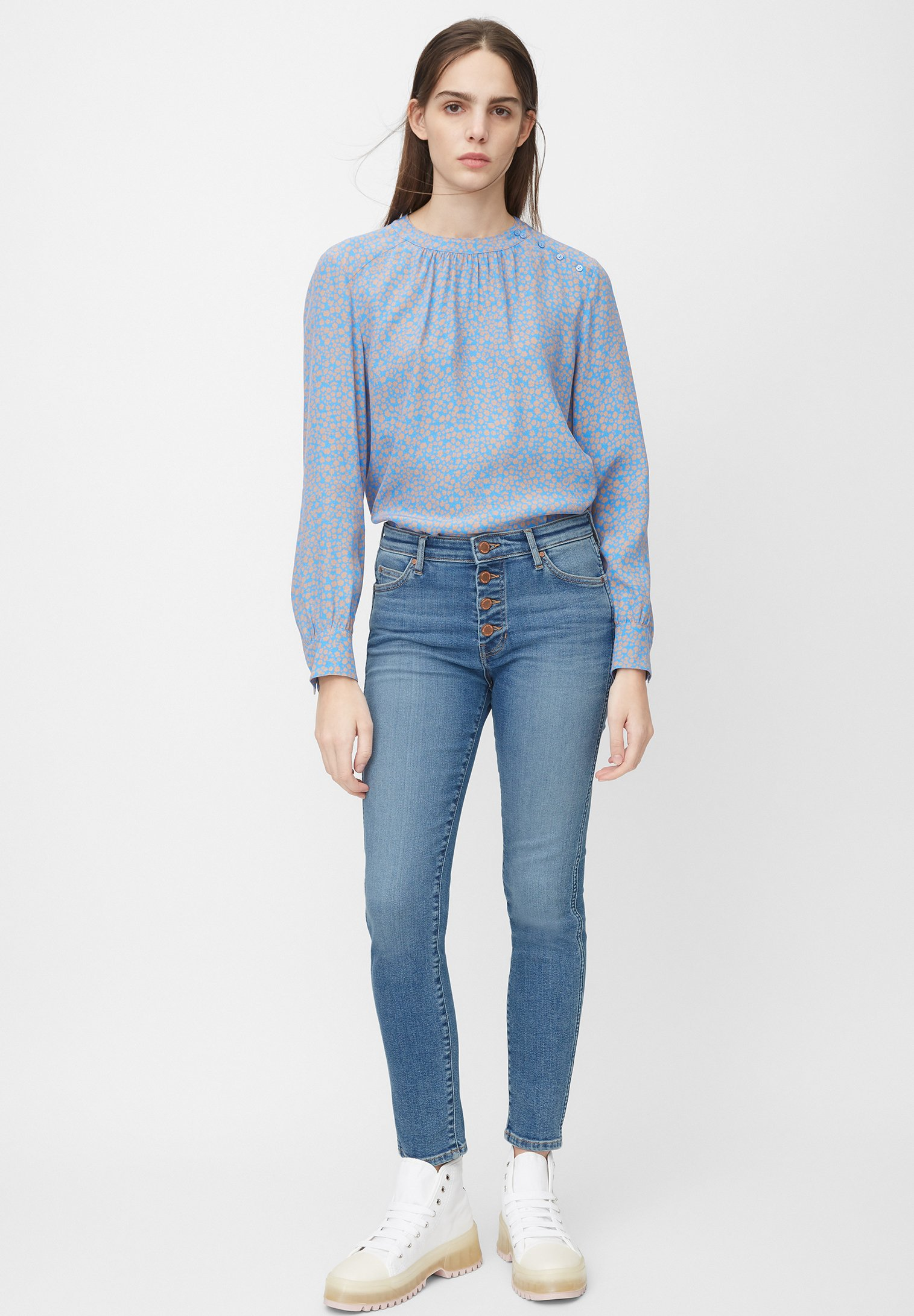 Marc O'Polo DENIM Jeansy Skinny Fit - blue