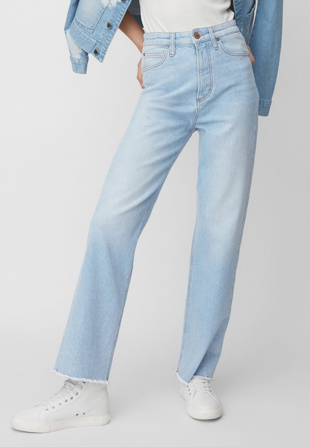 FJELL  - Straight leg jeans - multi/bright sea wash