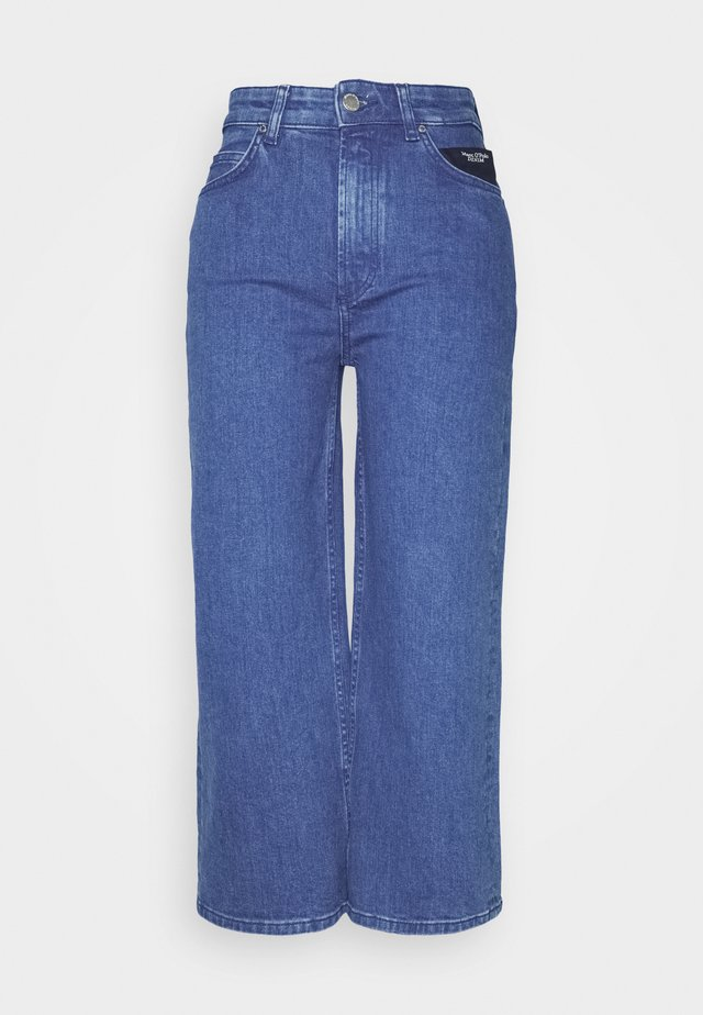 TOMMA CROPPED - Relaxed fit -farkut - pre fall blue