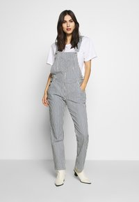 Marc O'Polo DENIM - OVERALL RELAXED FIT - Tuinbroek - spring wash - 0