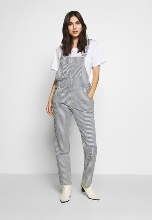 OVERALL RELAXED FIT - Lacláče - spring wash