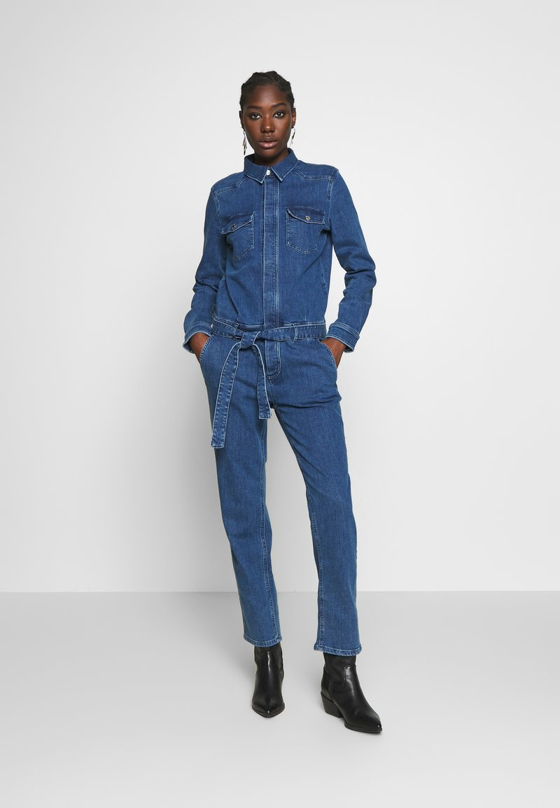 Marc O'Polo DENIM - OVERALL RELAXED FIT - Jumpsuit - january blue dress