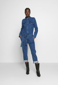 Marc O'Polo DENIM - OVERALL RELAXED FIT - Jumpsuit - january blue dress - 1