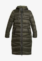 COAT QUILTED PUFFER 2IN1 OPTIC - Cappotto invernale - action green